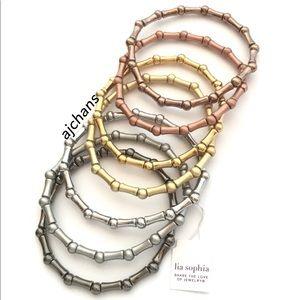 Lia Sophia Multiplicity Set of 7 Stretch Bracelets